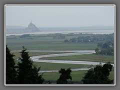 12.11 Mont St Michel, from Avranches